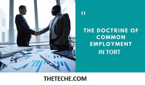 Doctrine of Common Employment
