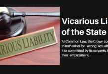 Vicarious Liability of the State