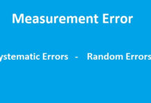 Systematic and Random Errors in Measurement