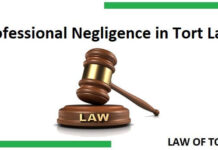 Professional Negligence in Tort Law