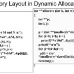 Dynamic Memory Allocation Array in C
